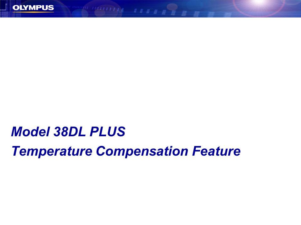 Temperature Compensation Feature