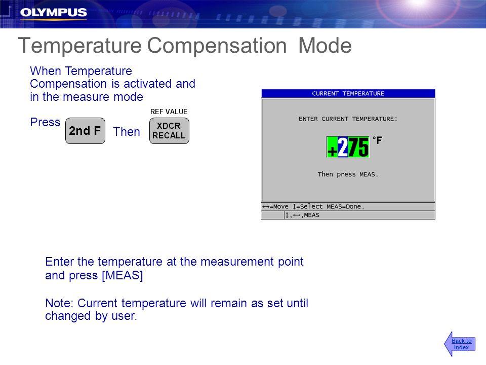 Temperature Compensation Mode