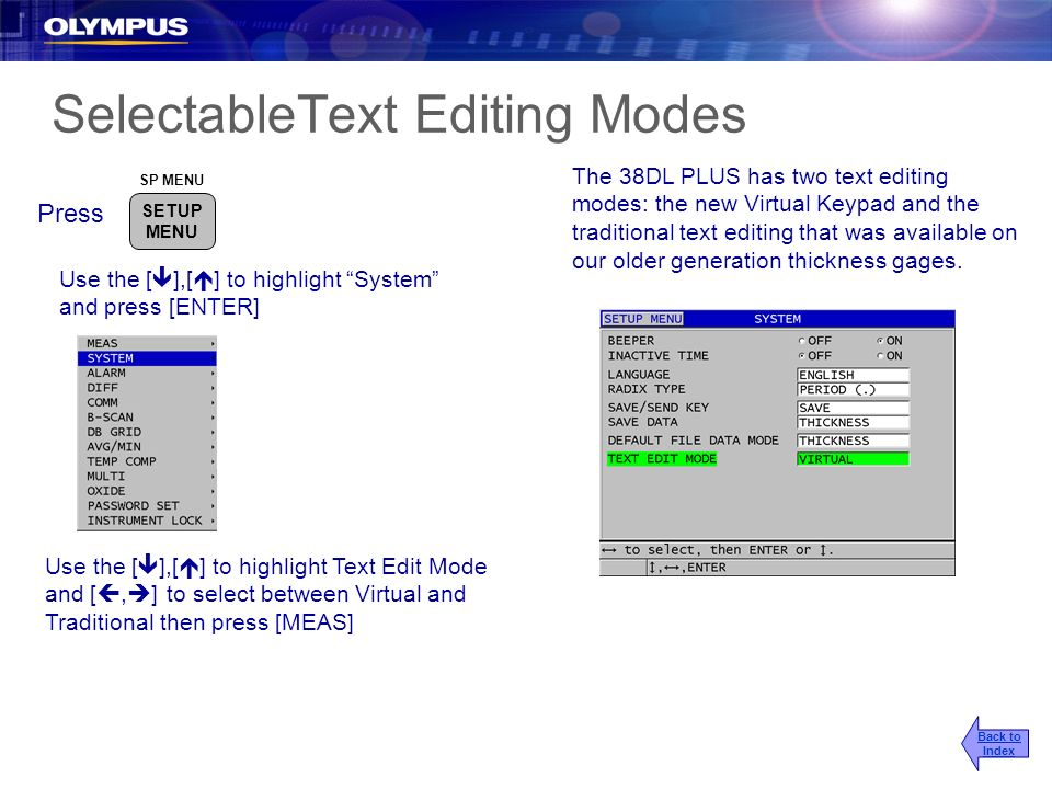 SelectableText Editing Modes
