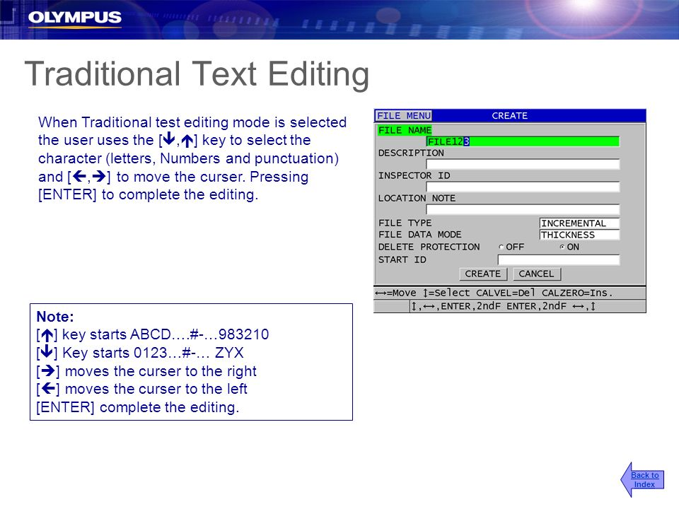 Traditional Text Editing