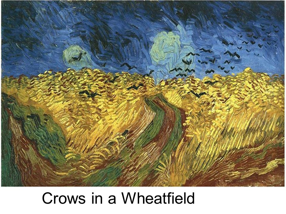 Crows in a Wheatfield