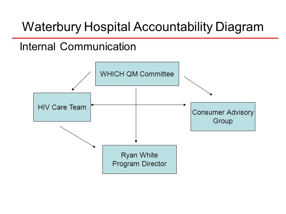 Waterbury Hospital Accountability Diagram