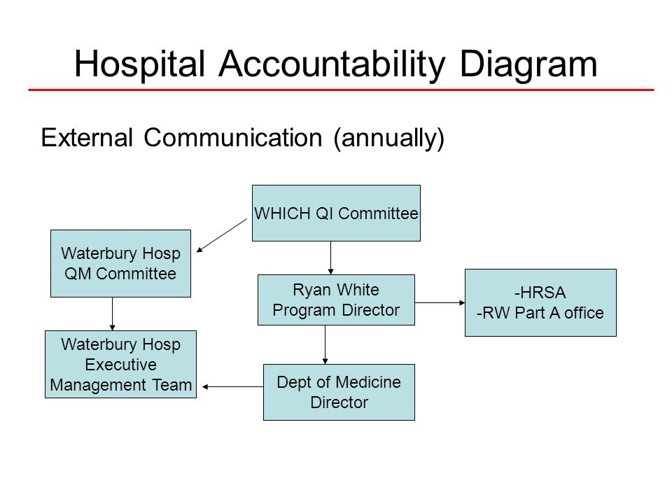 Hospital Accountability Diagram