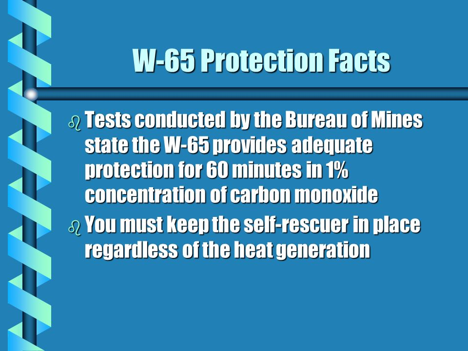 W-65 Protection Facts
