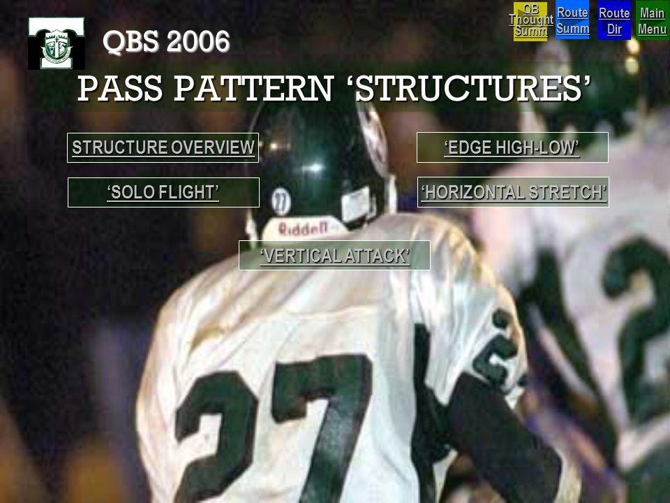 PASS PATTERN 'STRUCTURES'