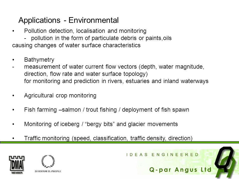 Applications - Environmental