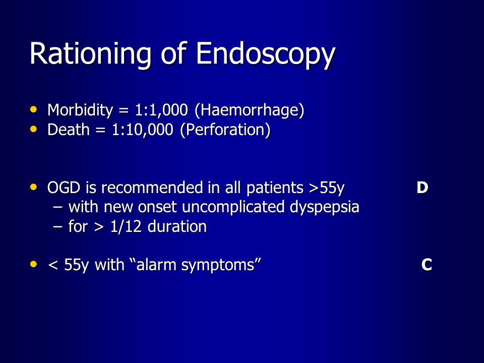 Rationing of Endoscopy