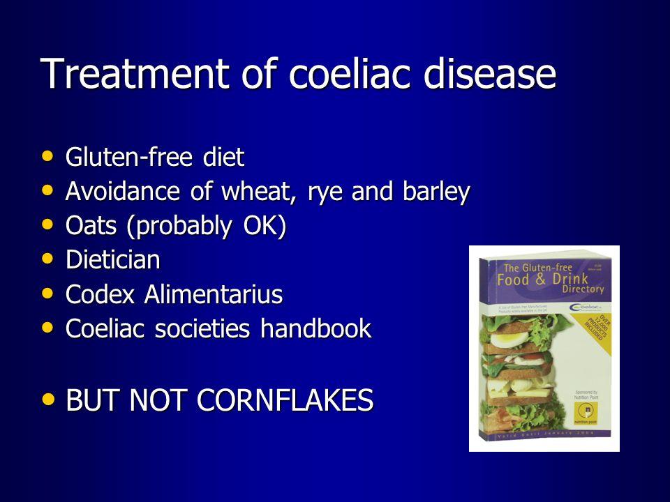 Treatment of coeliac disease