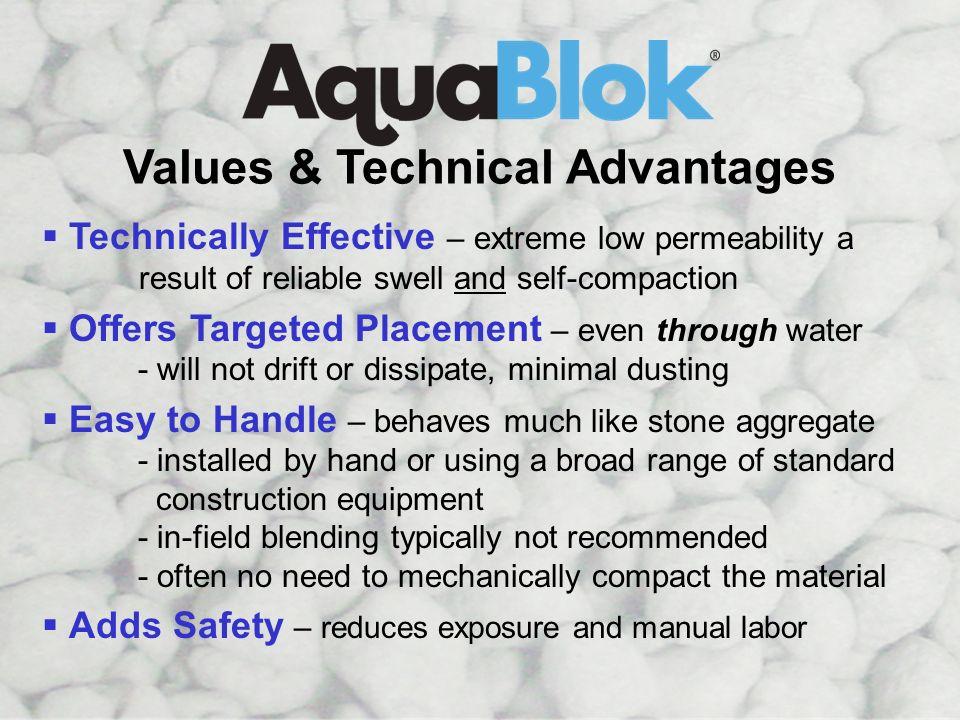 Values & Tech Advantages: 1 of 2