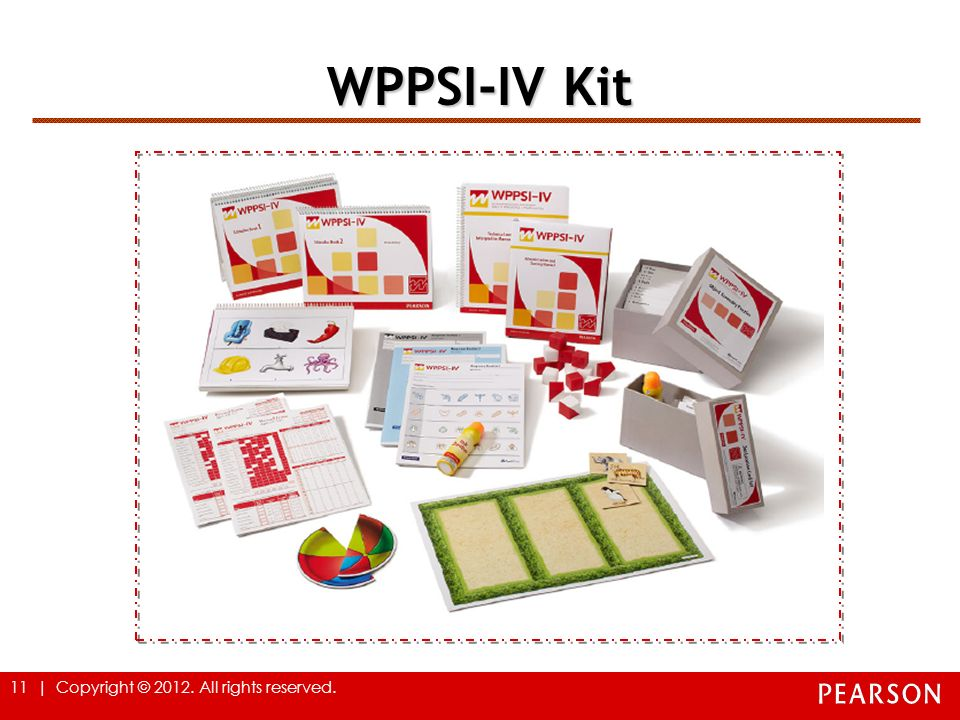 WPPSI-IV Kit