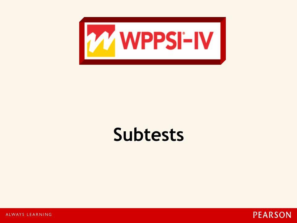Subtests 34