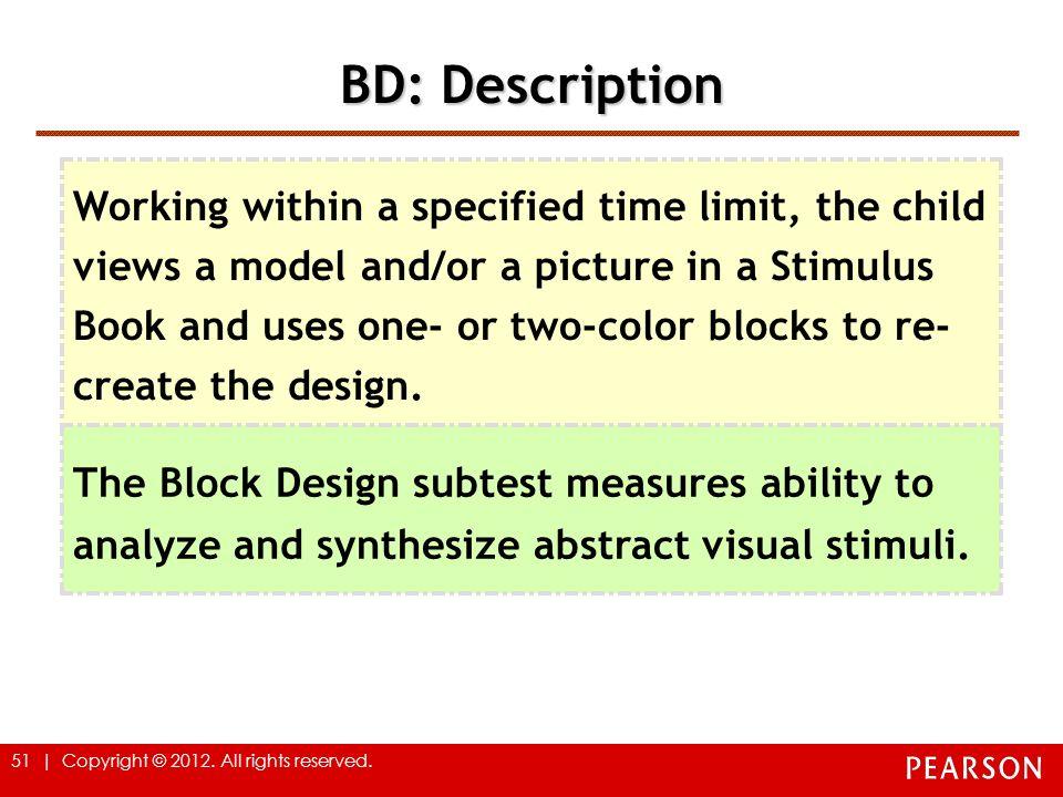BD: Description