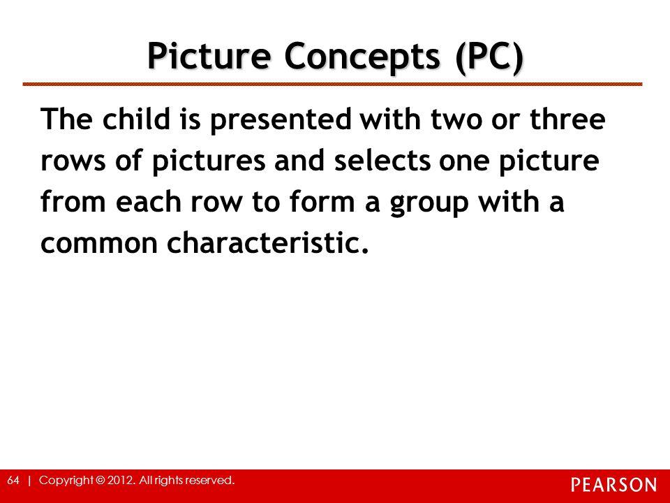 Picture Concepts (PC)