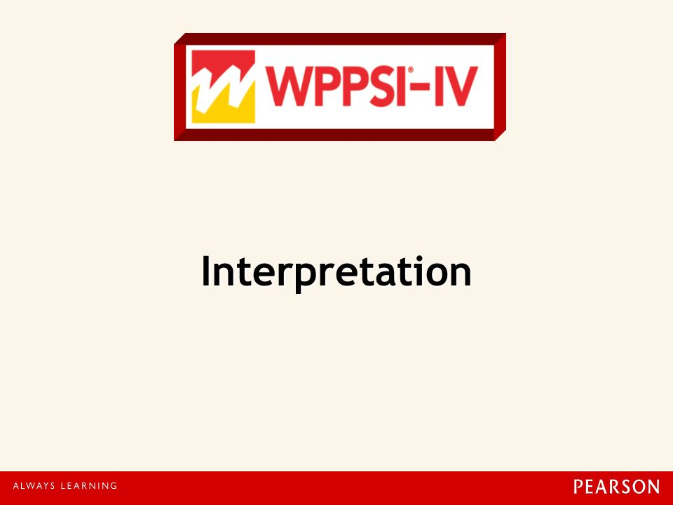 Interpretation 97