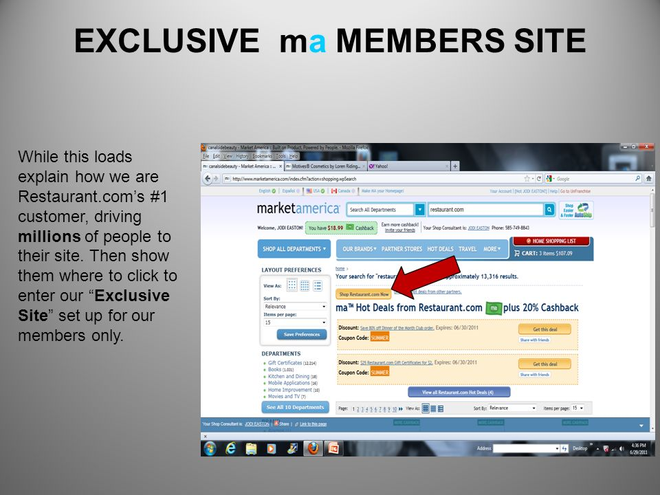 EXCLUSIVE ma MEMBERS SITE