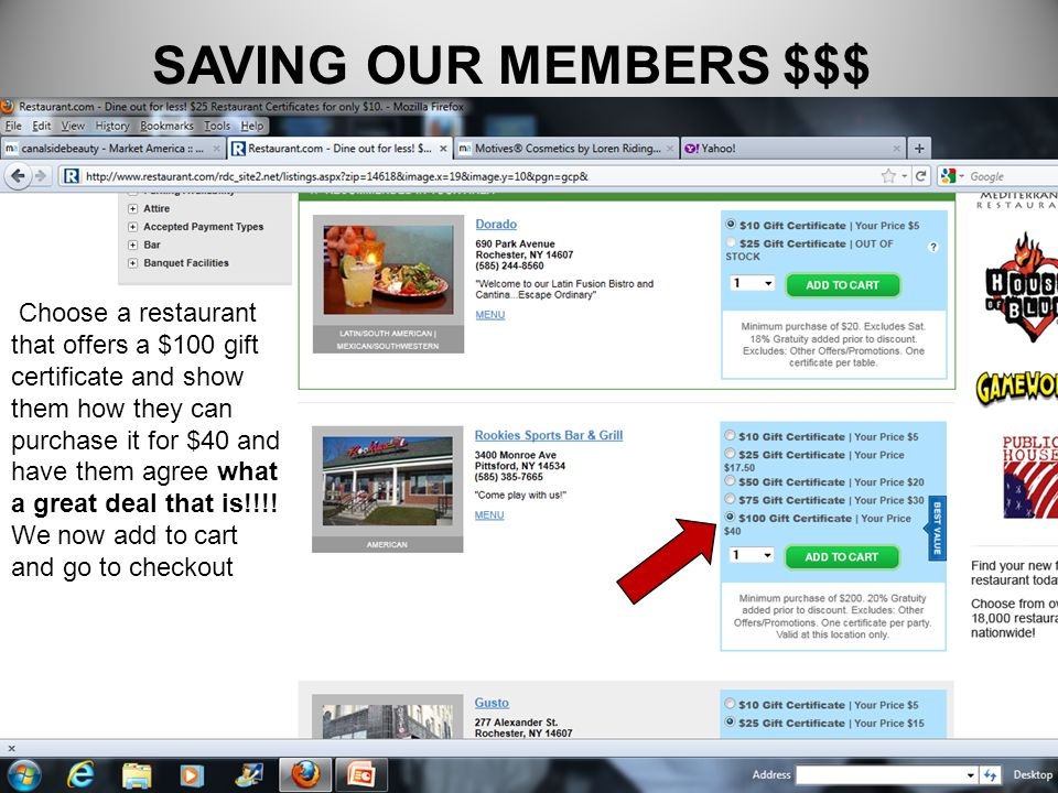 SAVING OUR MEMBERS $$$
