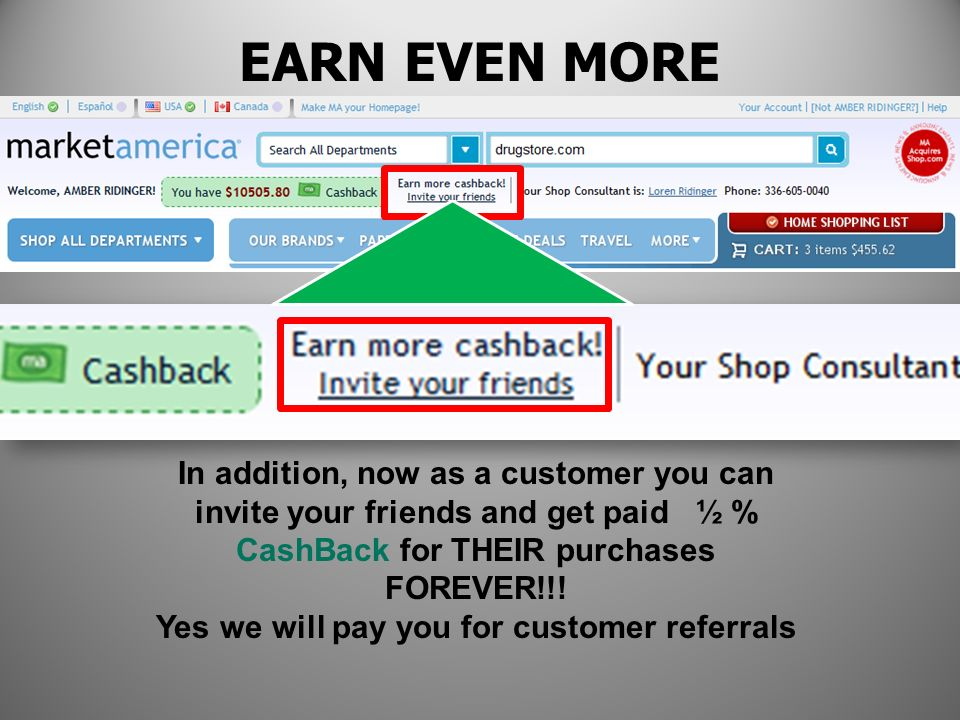 Yes we will pay you for customer referrals