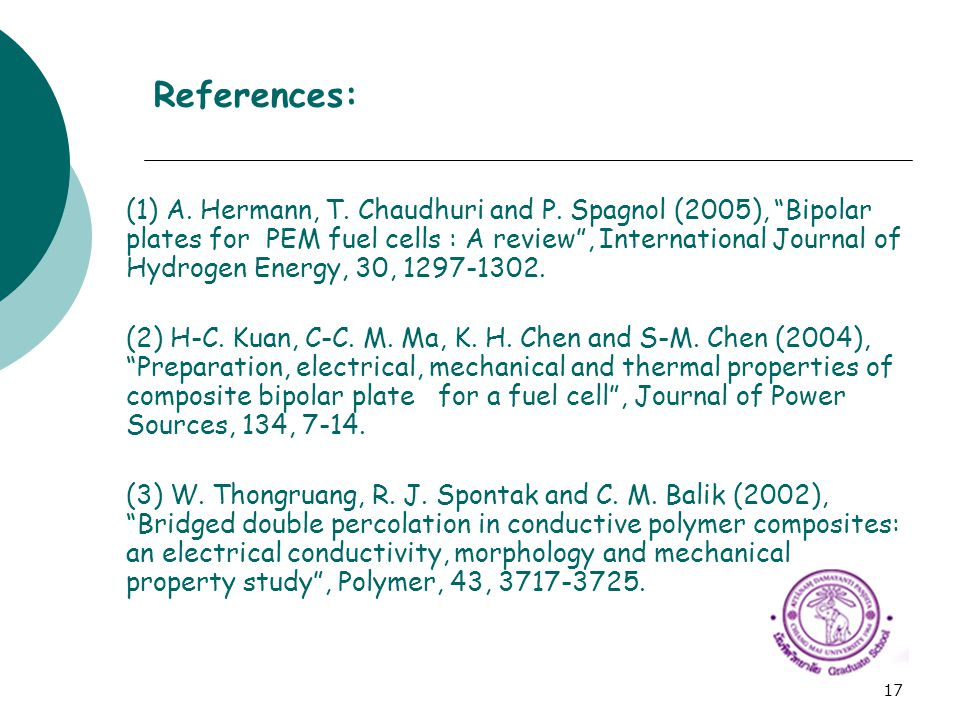 References: