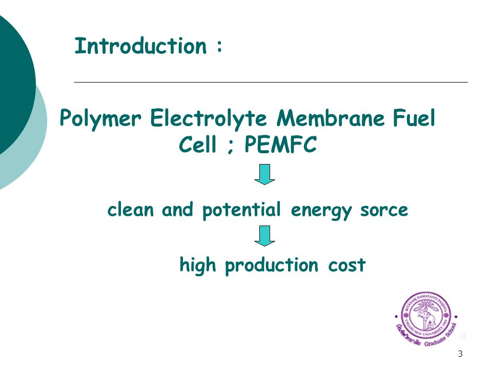 Polymer Electrolyte Membrane Fuel Cell ; PEMFC