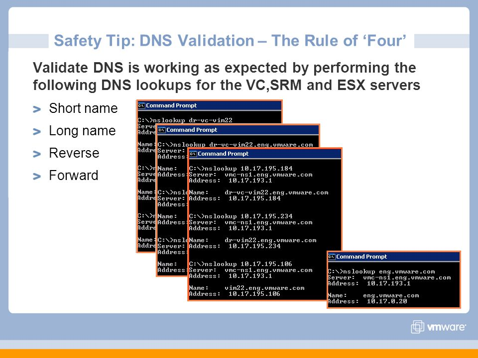 Safety Tip: DNS Validation – The Rule of 'Four'