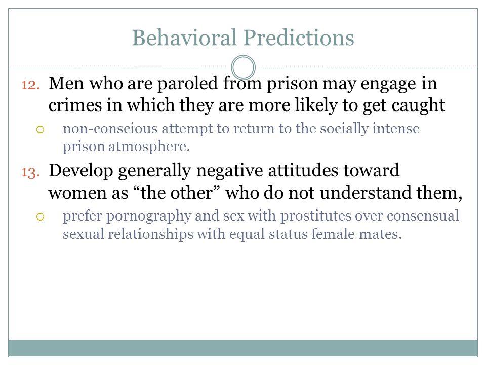 Behavioral Predictions