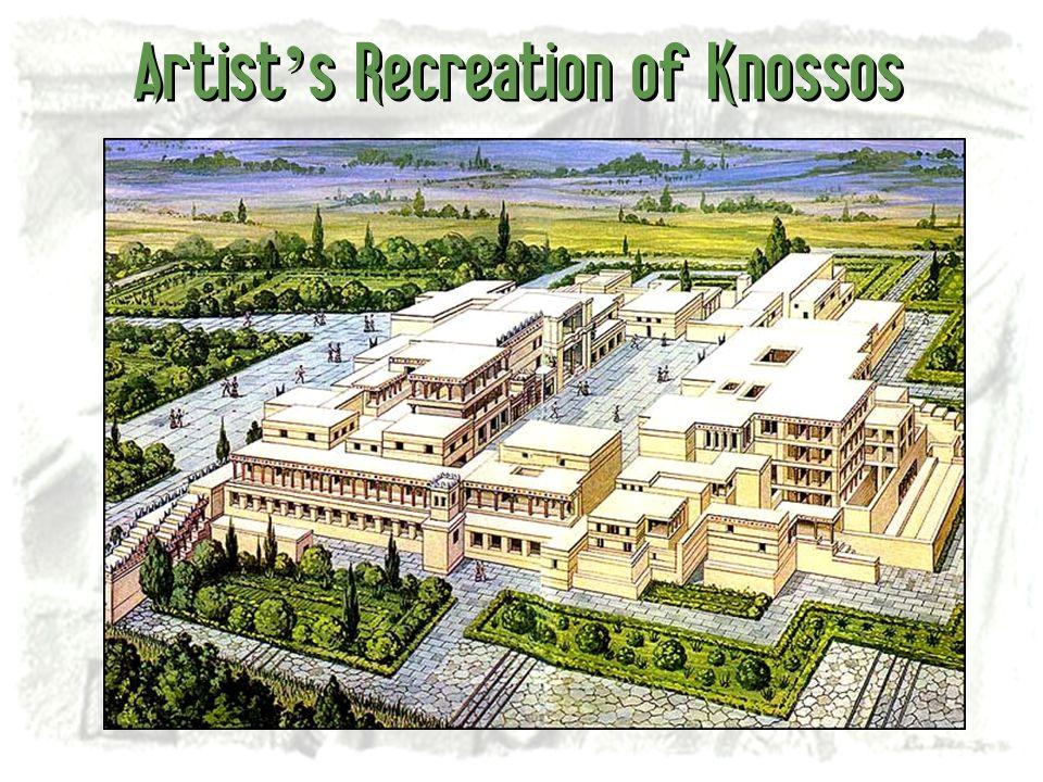 Artist's Recreation of Knossos