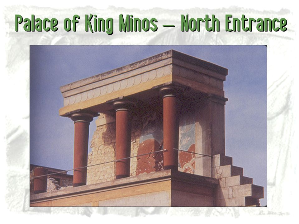 Palace of King Minos – North Entrance