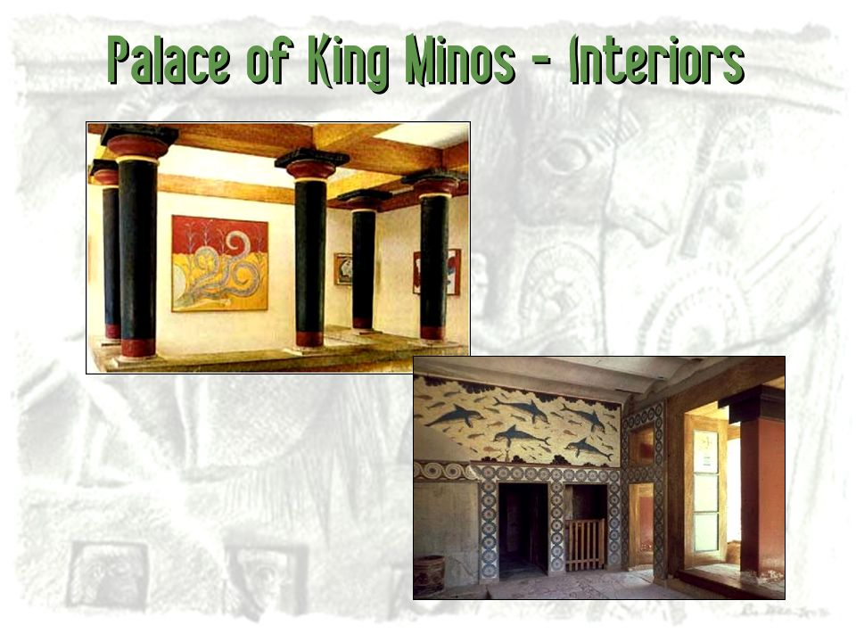 Palace of King Minos - Interiors