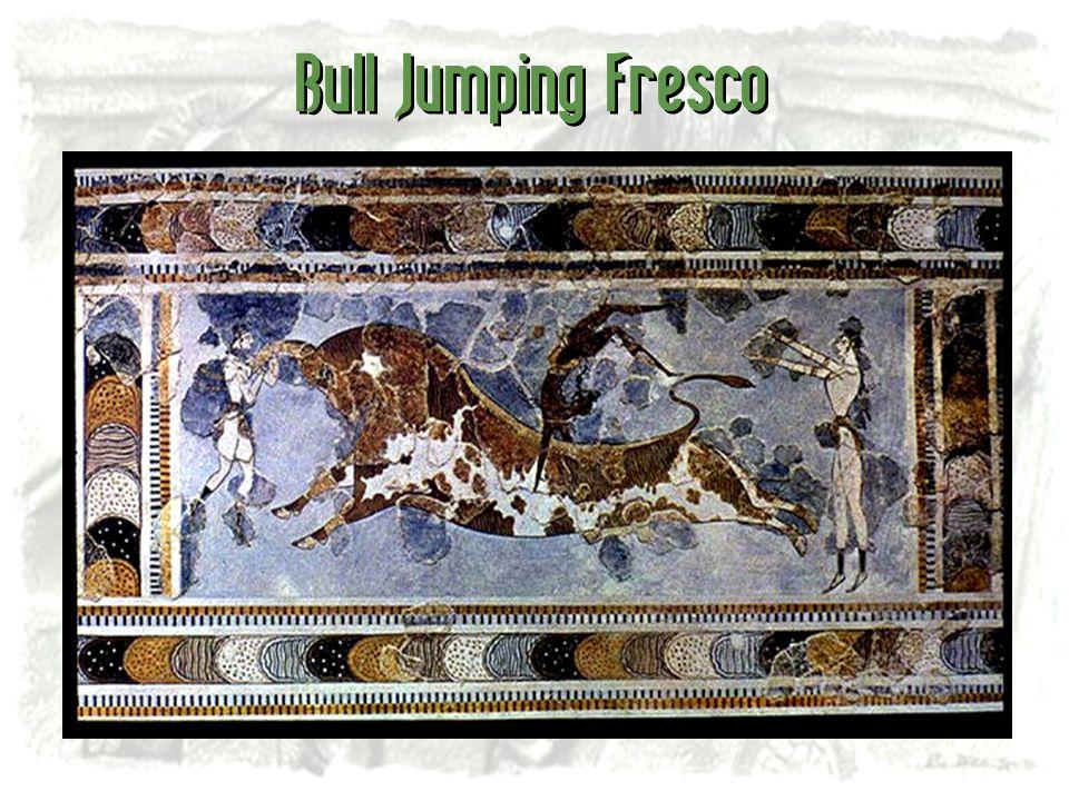 Bull Jumping Fresco