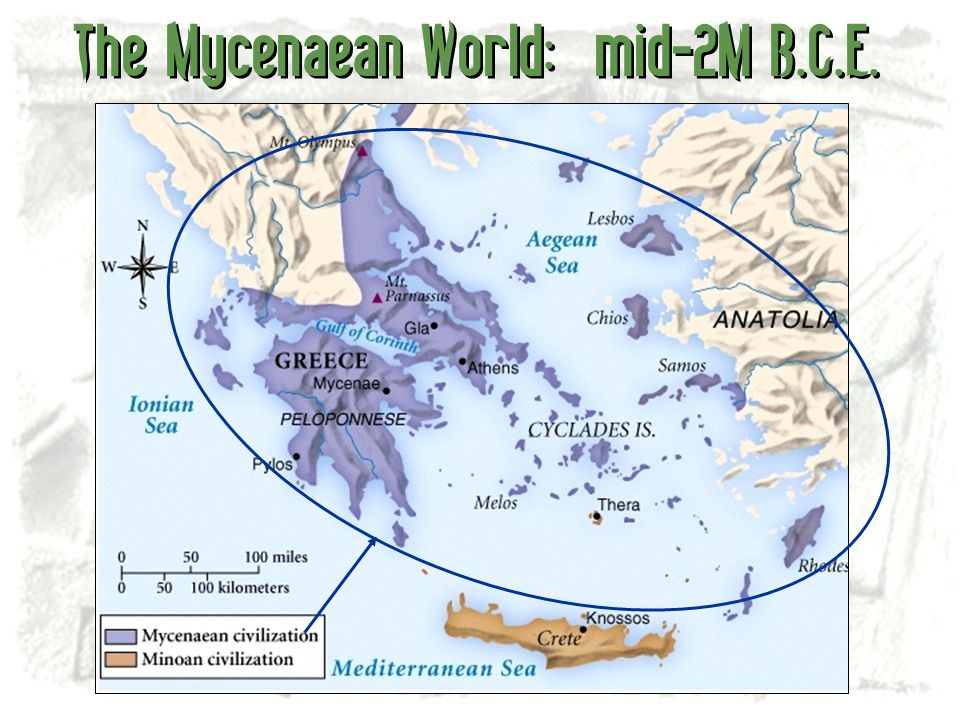 The Mycenaean World: mid-2M B.C.E.