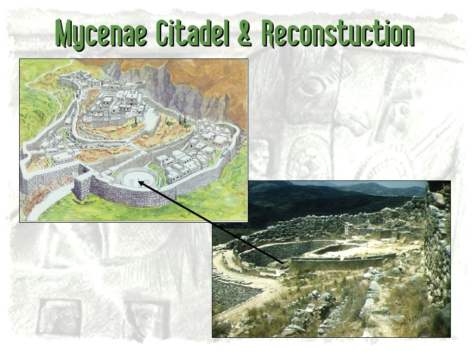 Mycenae Citadel & Reconstuction