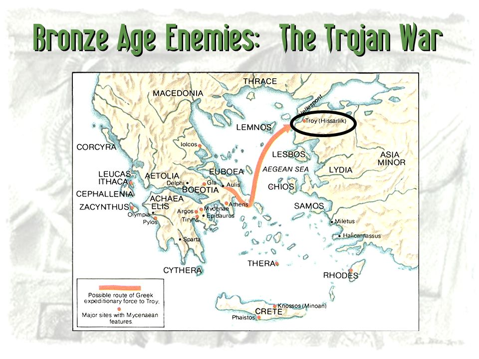Bronze Age Enemies: The Trojan War