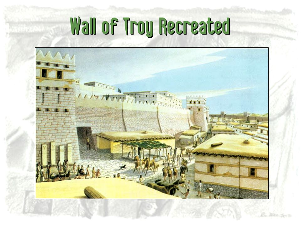 Wall of Troy Recreated
