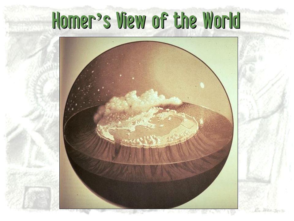 Homer's View of the World