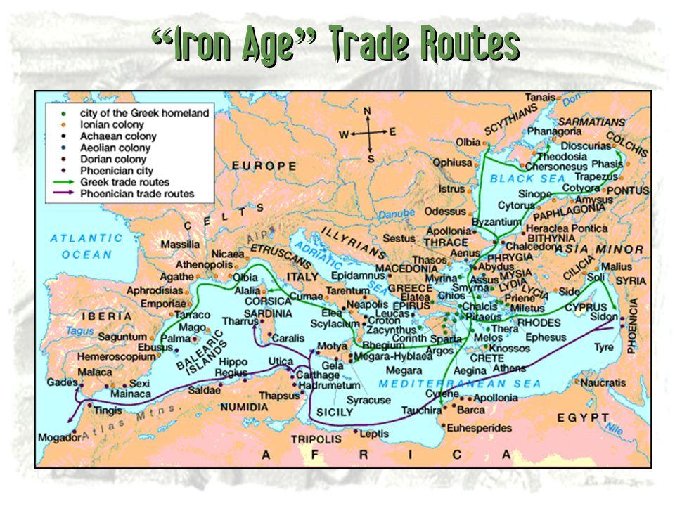 Iron Age Trade Routes