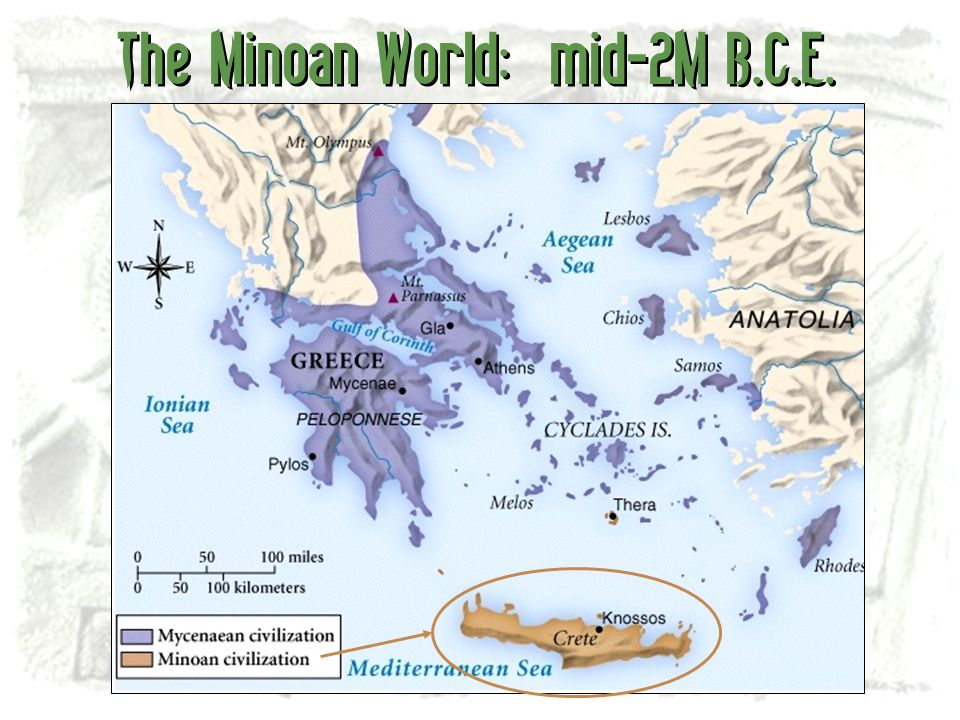 The Minoan World: mid-2M B.C.E.