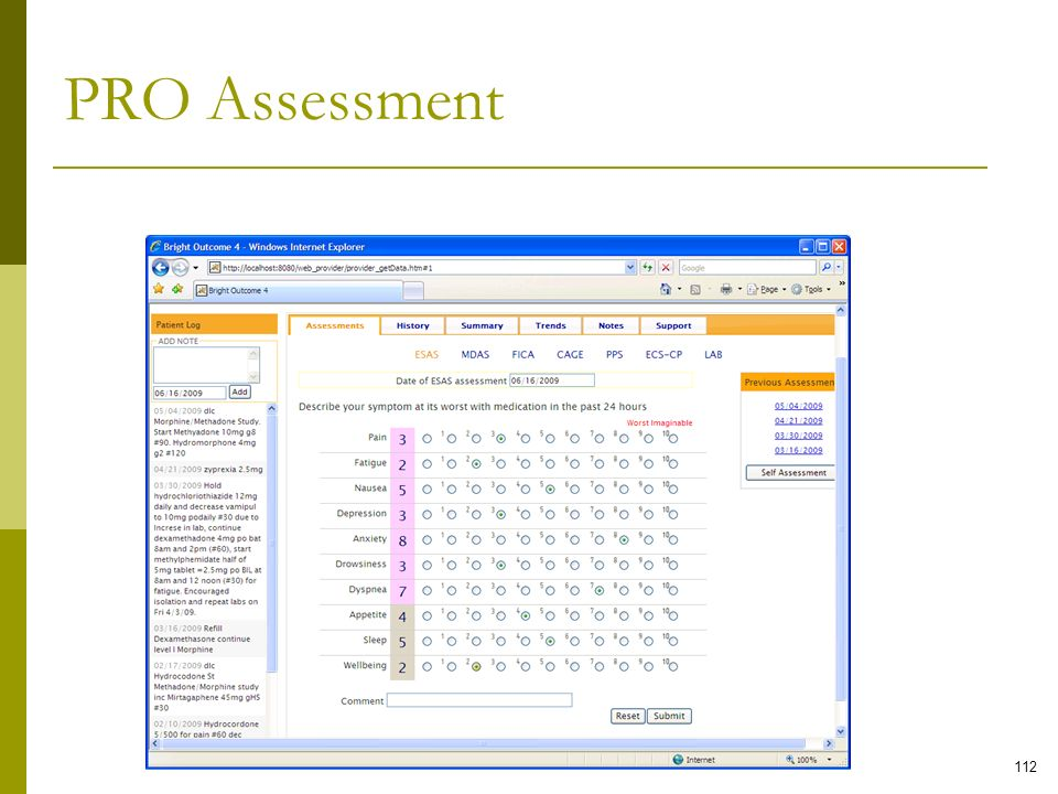 PRO Assessment Home-Centered Teleoncology Care Model Phase I Findings