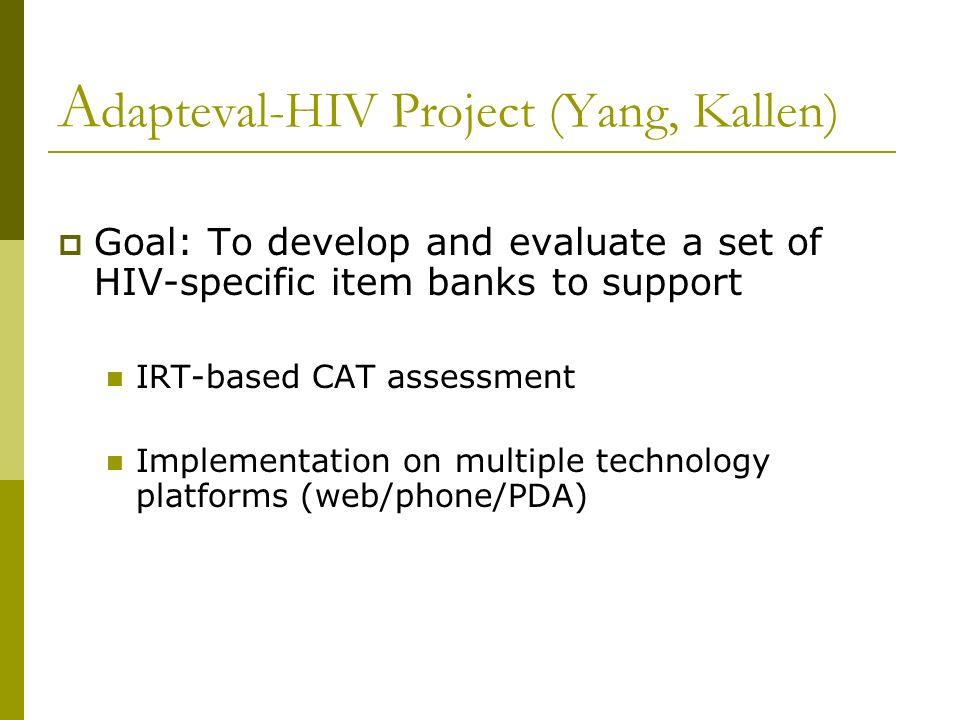 Adapteval-HIV Project (Yang, Kallen)