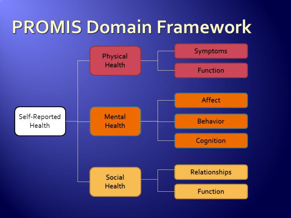 PROMIS Domain Framework