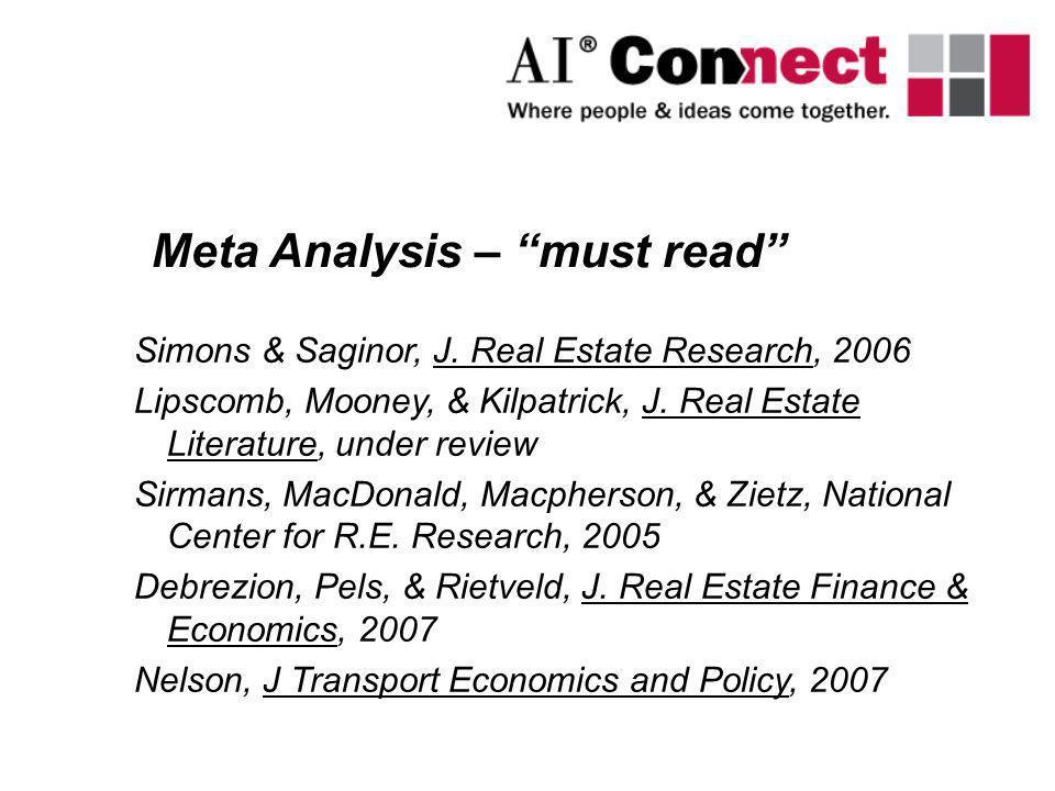 Meta Analysis – must read