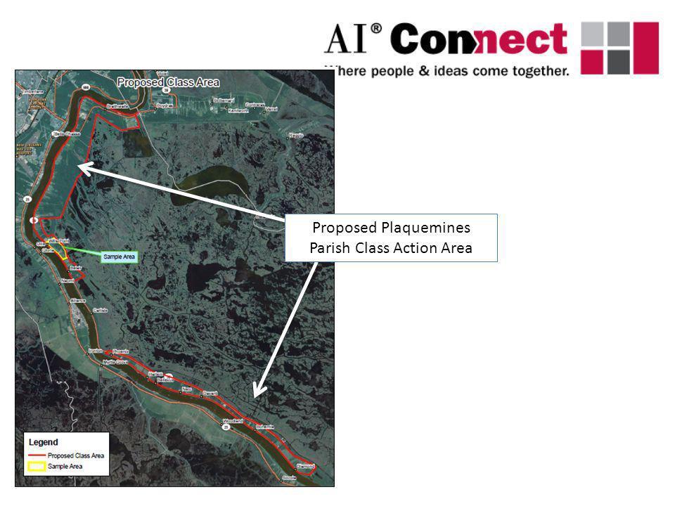 Proposed Plaquemines Parish Class Action Area