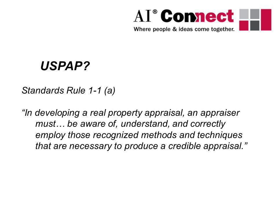 USPAP Standards Rule 1-1 (a)