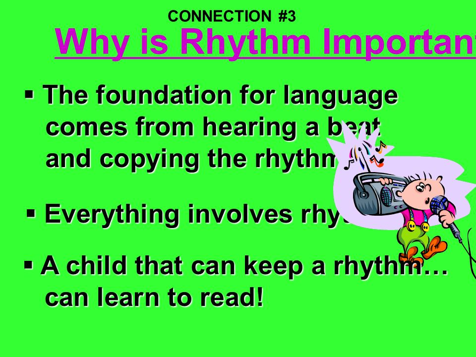 Why is Rhythm Important