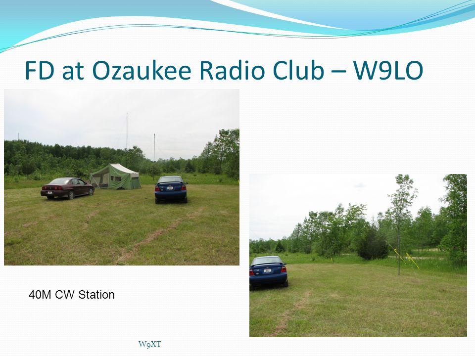 FD at Ozaukee Radio Club – W9LO