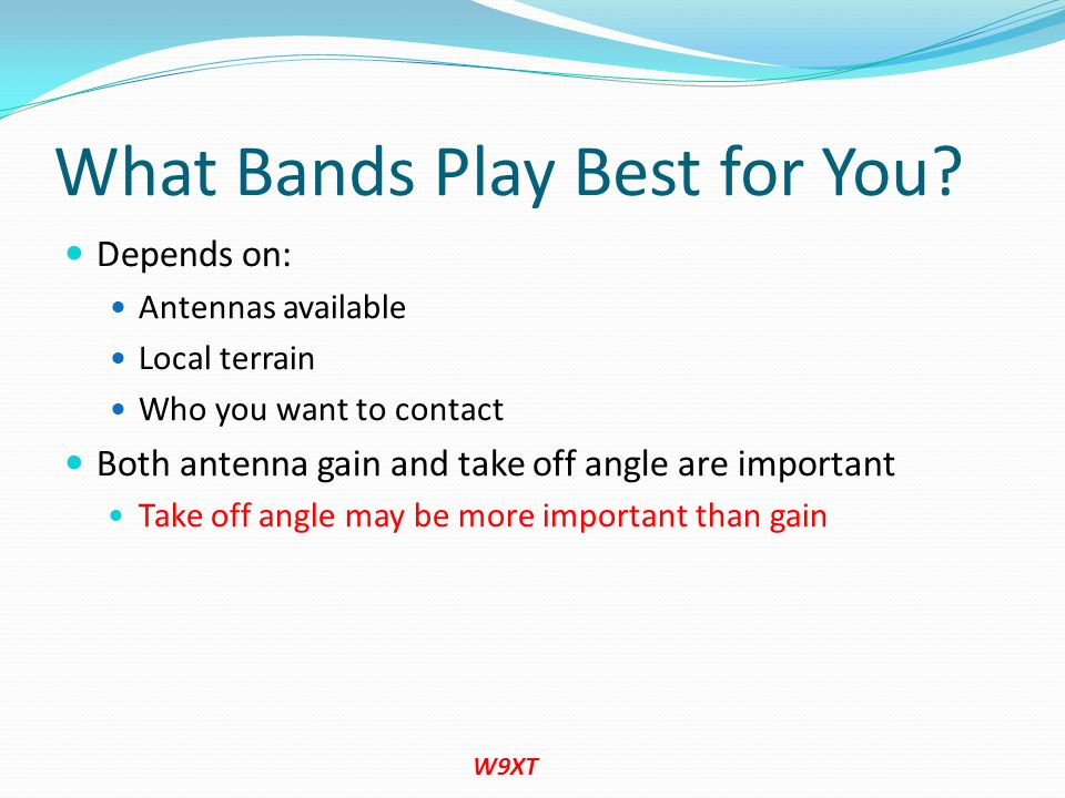 What Bands Play Best for You