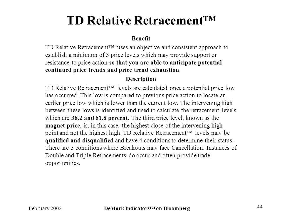 TD Relative Retracement™