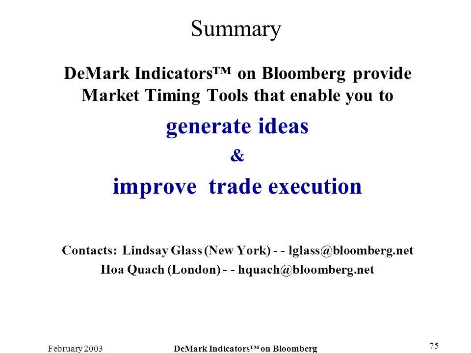 improve trade execution
