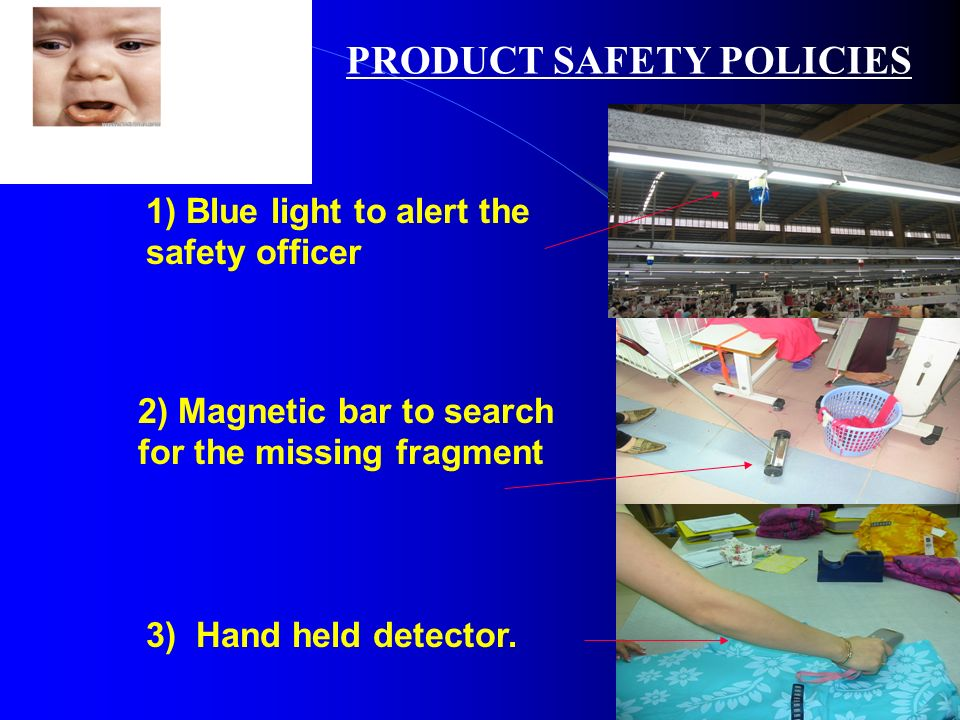 PRODUCT SAFETY POLICIES