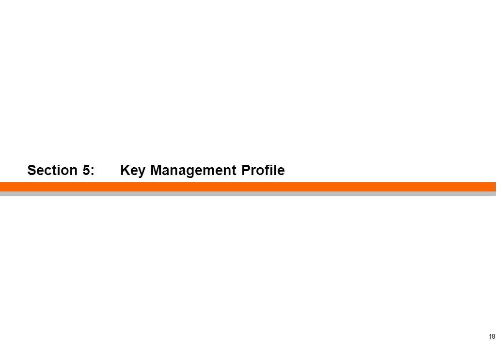 Section 5: Key Management Profile