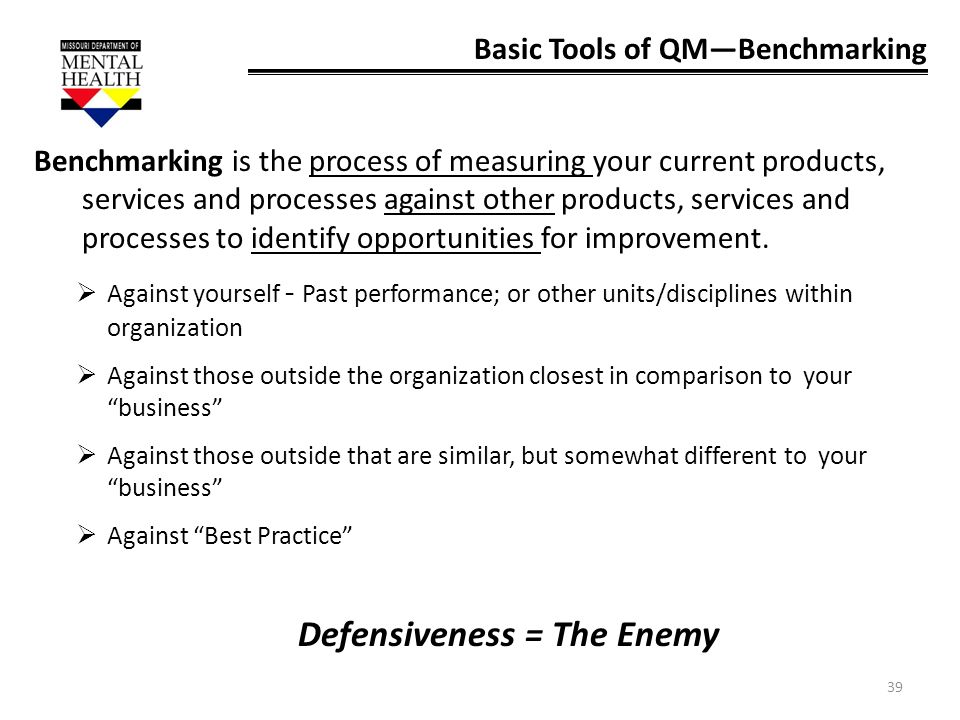 Defensiveness = The Enemy